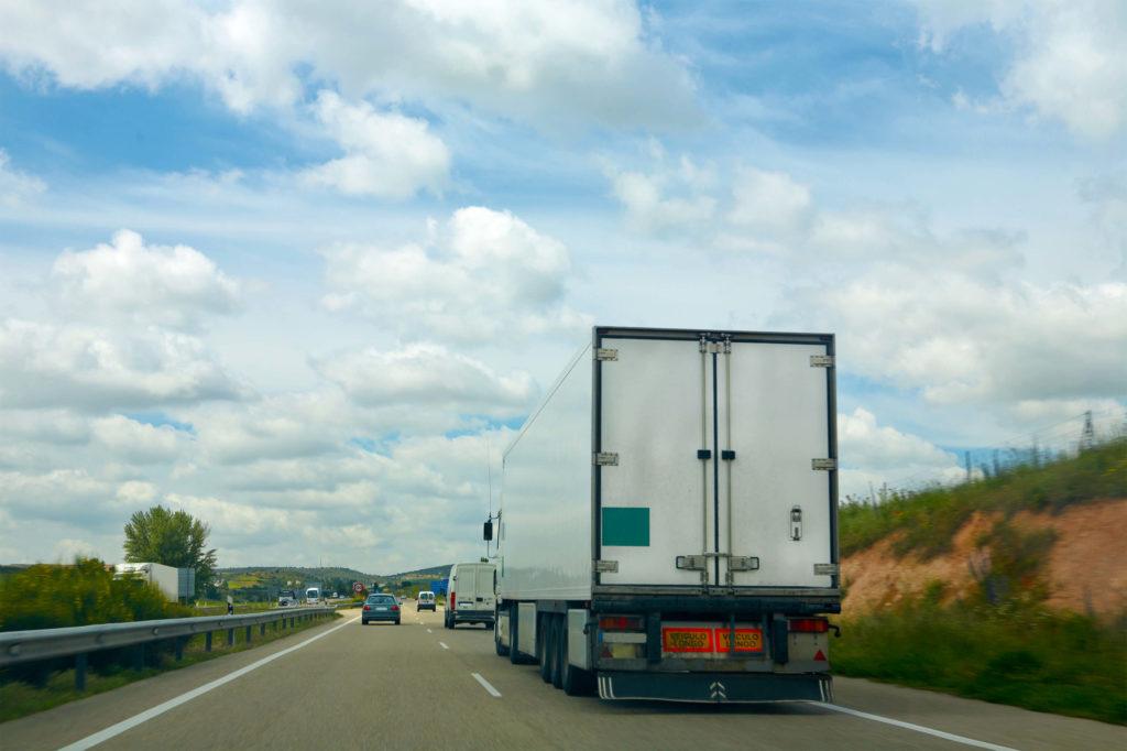 long-distance truck